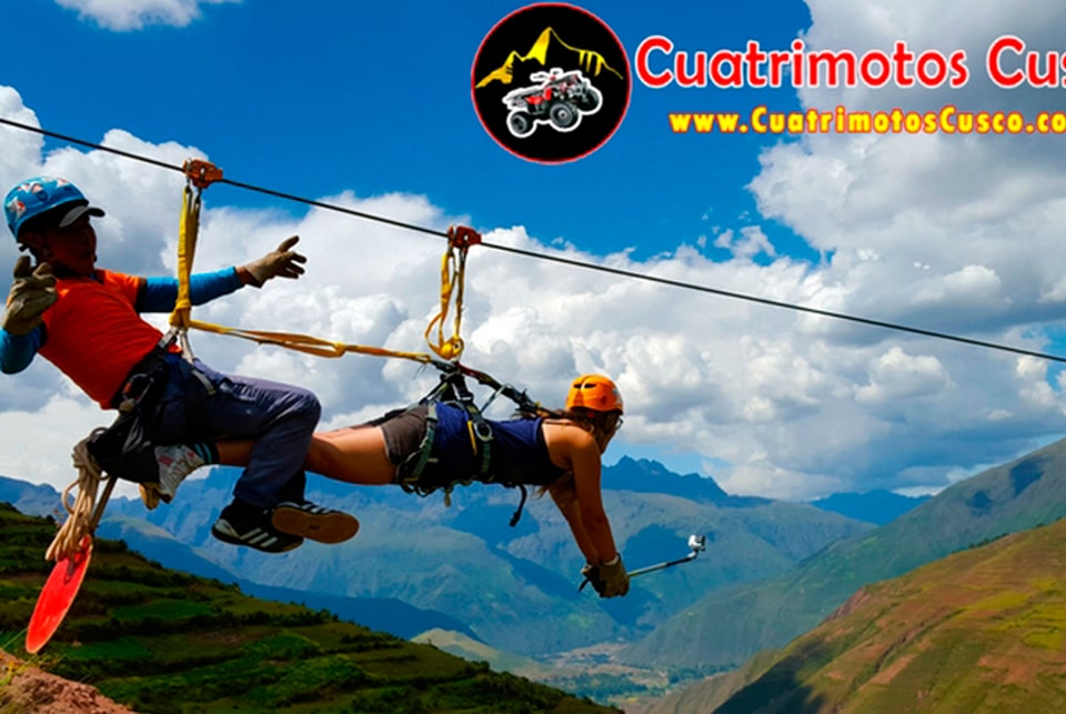 zipline tour, cuatrimotos cusco tour
