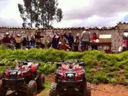 Navidad con Cuatrimotos Cusco 2015