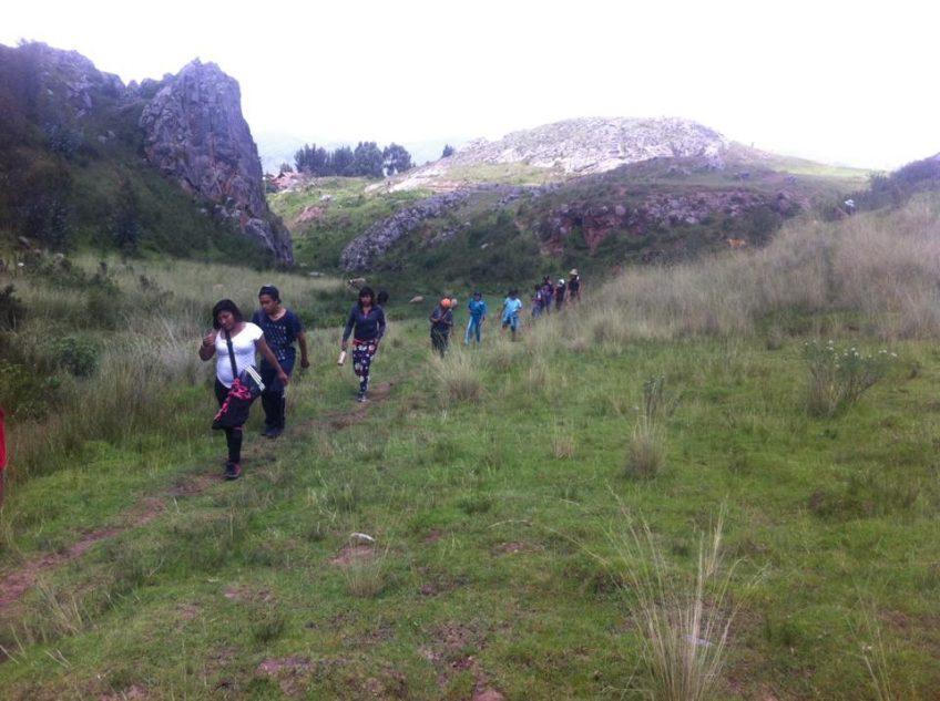 Caminata con amigos del Orfanato
