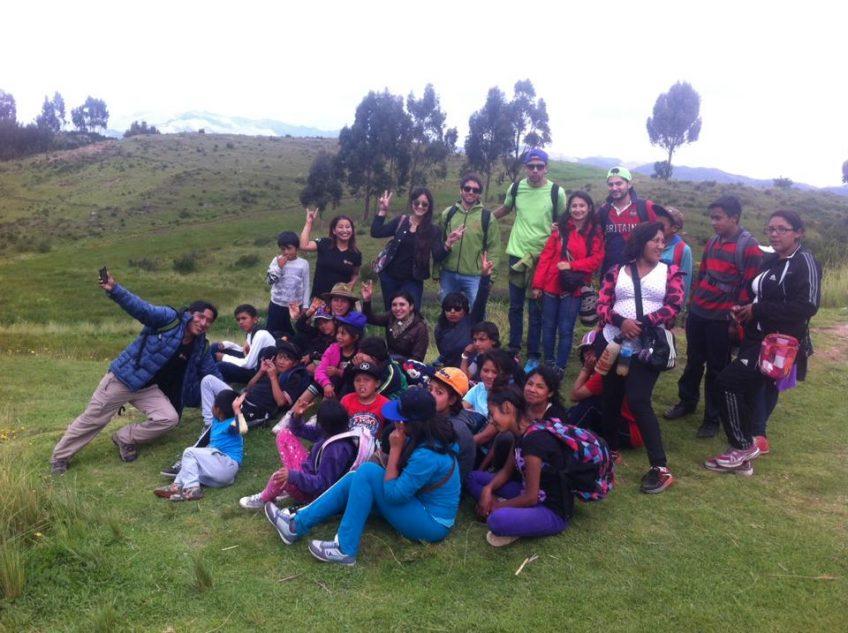 Campo Abierto con amigos del Orfanato