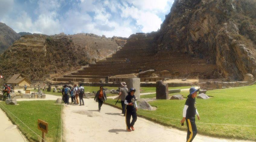 Visita del Ollantaytambo