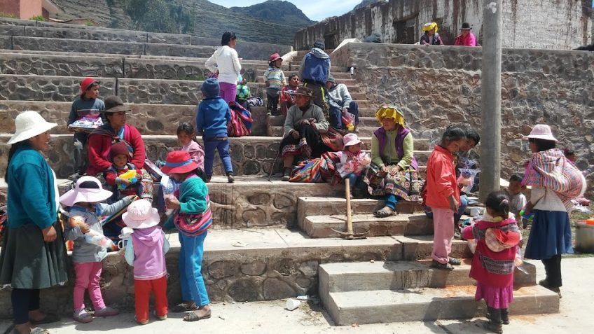 Entrega de regalos y chocolatada Cuatrimotos Cusco
